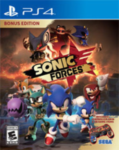Sonic Forces Bonus Edition by Sega of America PS4