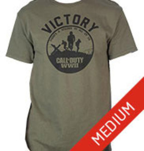 Call of Duty WWII Victory Olive Green T-Shirt