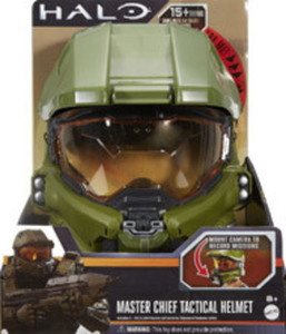 Halo Master Chief Tactical Helmet by Mattel