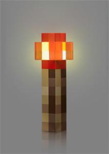 Minecraft Redstone Wall Torch