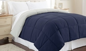 All Seasons Down Alternative Reversible Comforter
