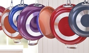 Gotham Steel Non-Stick Colored Fry Pans