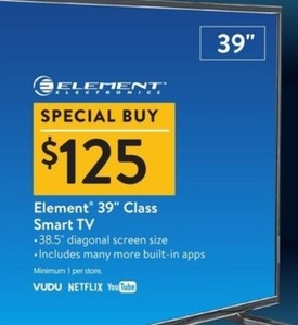 "Element 39"" Class Smart TV"