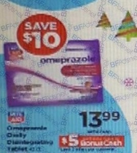 Rite Aid 42-ct. Omeprazole Orally Dissolving Tablets