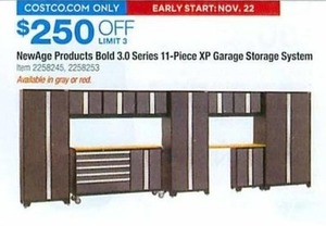 NewAge Products Bold 3.0 Series 11 Piece Xp Garage Storage System