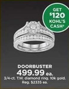 3/4-ct. T.W. Diamond Ring
