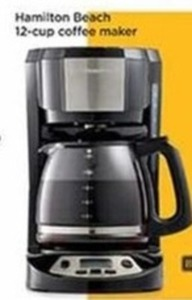 Hamitton Beach 12 Cup Coffee Maker (After Rebate)