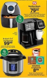 Hamilton Beach FlexBrew Coffee Maker (Get $15 Kohl's Cash)