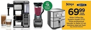 Bella 5.3-qt. Stainless Steel Air Fryer with $15 Kohl's Cash
