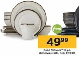 Food Network 16-pc. Dinnerware Sets