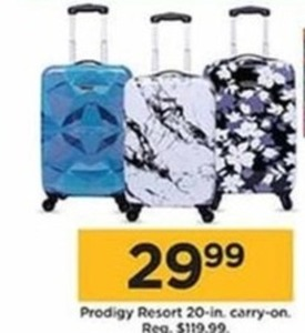 Prodigy Resort 20-In Carry-On