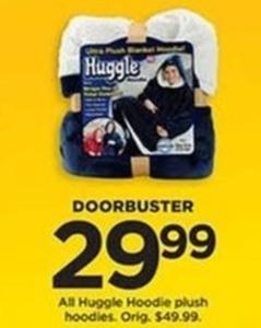 Huggle Hoodie Plush Hoodies