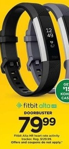 Fitbit Alta HR Heart Rate Activity Tracker