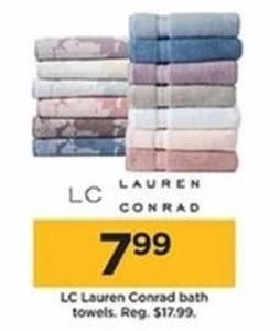 LC Lauren Conrad Bath Towels