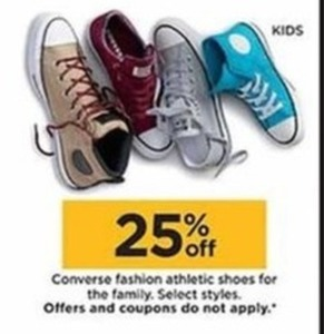 Converse Fashion Athletic Shoes for the Family