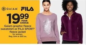Fila Sport Fleece Jacket for Women