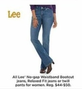 All Women's Lee Twill Pants - Kohls Cash
