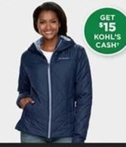 Womens Columbia Cooper Crest Jacket + $15 Kohl's Cash