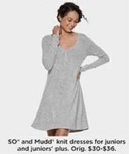 Mudd Knit Dresses for Juniors and Juniors Plus