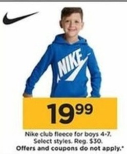 Nike Club Fleece for Boys
