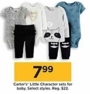 Carter's Little Character Sets for Baby