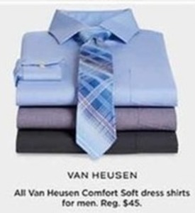 Van Heusen Comfort Soft Dress Shirts for Men