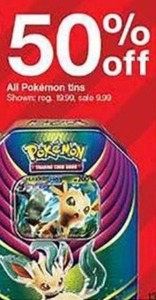 All Pokemon Tins
