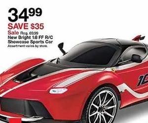 Bright Showcase Sports Car
