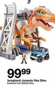 Imaginext Jurassic Rex Dino