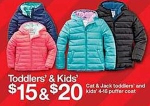 Toddlers' Puffer Coat