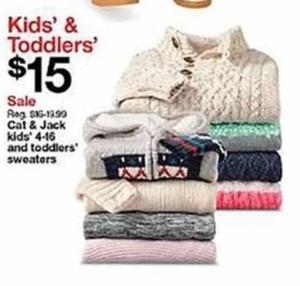 Cat & Jack Sweaters