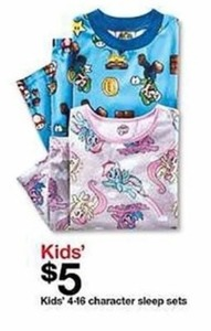 Kids Character Sleep Sets
