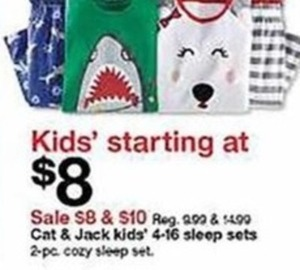 Cat & Jack Kids' Sleep Sets