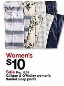 Women's Flannel Sleep Pants