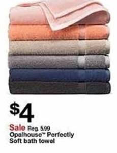 Opalhouse Perfectly Soft Bath Towel