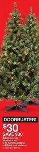 Wondershop 6.Ft Alberta Spruce Artificial Tree