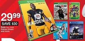 Xbox One Madden NFL 19 Game