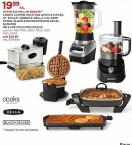 Black & Decker 8 Cup Food Procesor (After Rebate)