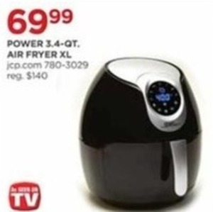 Power 3.4 qt Air Fryer XL