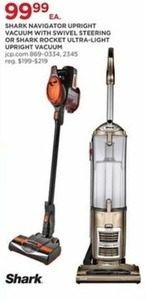Shark Navigator Upright Vaccum w/ Swivel Steering