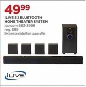 ILive 5.1 Bluetooth Home Theater System