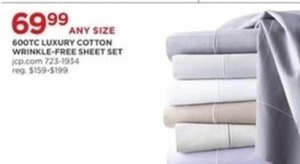 600TC Luxury Cotton Wrinkle Free Sheet Set