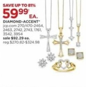 Select Diamond Accent Jewelry