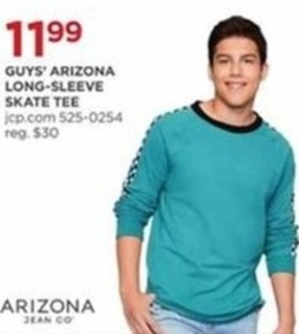 Guy's Arizona Long Sleeve Skate Tee
