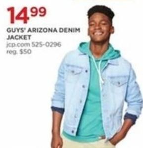 Guys' Arizona Denim Jacket