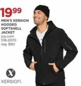 Men's Xersion Hooded Softshell Jacket