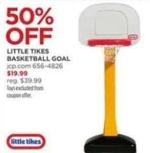 Little Tikes Basketball Goal