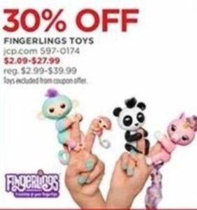Fingerlings Toys