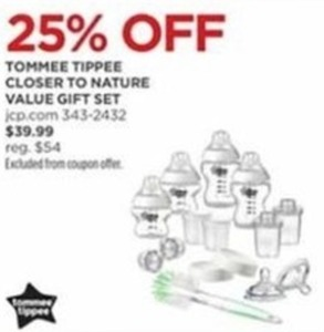 Tommee Tippee Closer TO Nature Value Gift Set