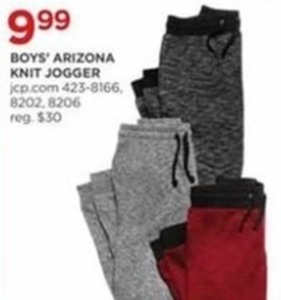 Boys' Arizona Knit Jogger